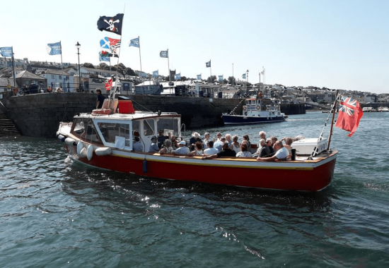 Our boat trips run from Falmouth daily throughout the season